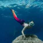 Nager comme une sirène à Fréjus