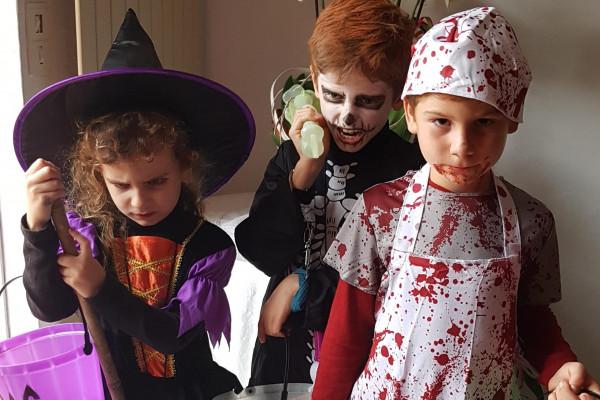 Chasse aux bonbons Spéciale Halloween