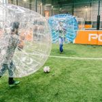 Bubble Bump N°1 du foot dans des bulles