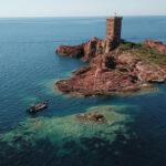 Sortie en mer roches rouges au départ de Fréjus