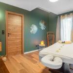 Massage à l'espace bien-être
