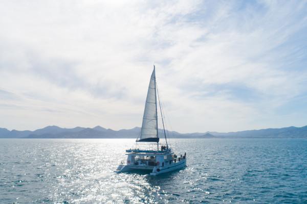Sortie en mer demi-journée sur le maxi-catamaran Ninah II