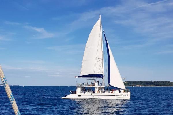Sortie en mer apéro sur le maxi-catamaran Ninah II