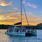 Croisière Ninah II - Coucher de soleil - Cap Dramont & Ile d'Or