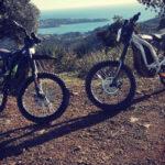 Randonnée en Moto électrique sur l'Esterel - Agay