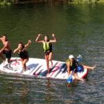 Big Paddle sur la rivière de l''Argens - Saint Aygulf