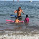 Leçon de natation - Club Mickey Les Loustics