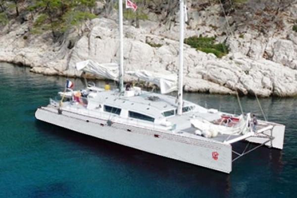 """Privatisation sortie catamaran """"Etoile Magique"""" - Saint Raphaël"""