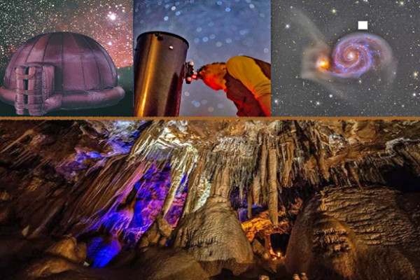 Grotte – Planétarium – Observation du ciel nocturne