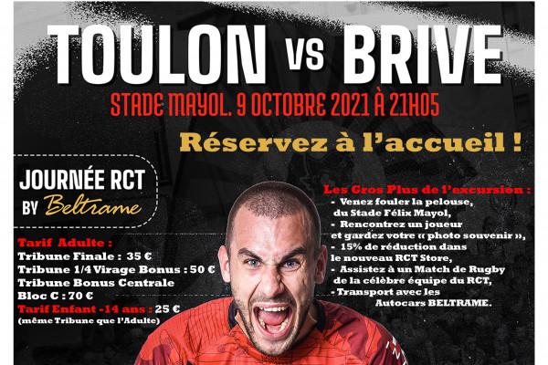 Les Journées RCT by BELTRAME - Match RCT / BRIVE (Top 14) - Le 09/10/2021