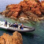 Excursion en mer - Roches rouges de l'Estérel