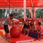 Cirque : parcours Baby cirque Eveil (4-6 ans) 1h