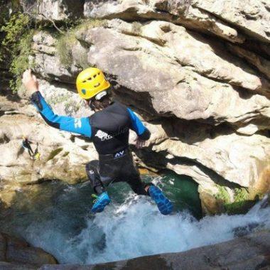 Canyoning niveau 2 – Gorges du loup