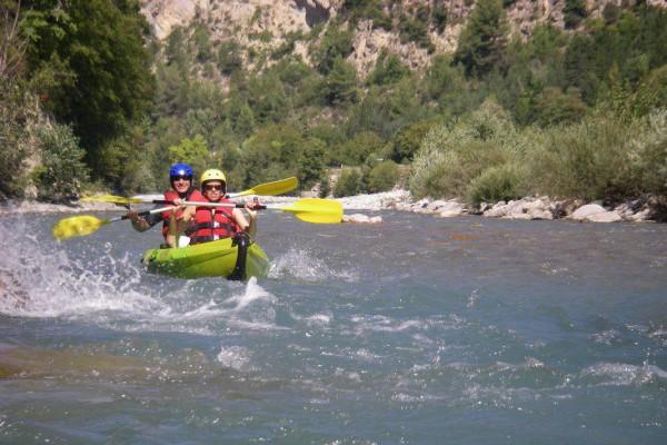 Provence Rafting – Descente libre en kayak Var