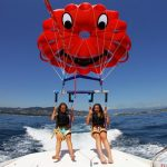 Parachute ascensionnel - Cannes la Bocca