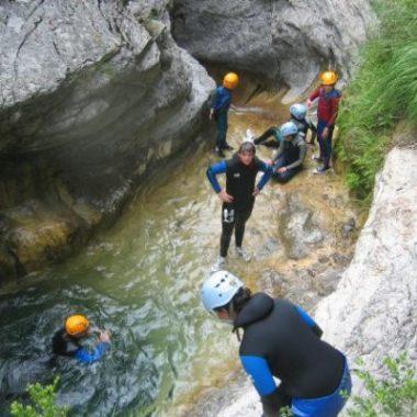 Canyoning Mercantour – Ruisseau d'Audin découverte en famille