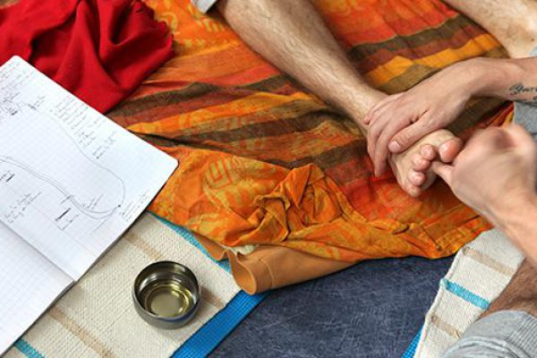 Réflexologie ayurvédique de tradition d'Inde du Nord approfondissement
