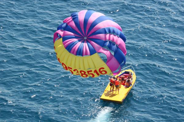 parachute ascensionnel fréjus