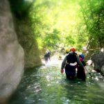Balade aquatique - Gorges de la Siagne