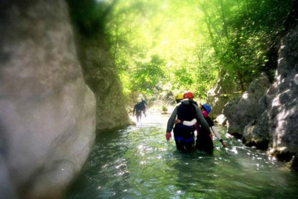 Canyoning avec Gilles Jovet  – Siagne